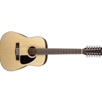 5671 Fender 12 String Acoustic Guitar Natural