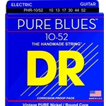 5260 DR PHR-10/52 Pure Blues Nickel Electric Guitar Strings, .010-.052