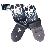 Perri Leather 5533 Perri's LPCP-290 Polyester Skull And Light Strap