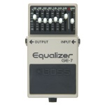 Roland 3306 Boss GE-7 7 Band Equalizer Effect Pedal
