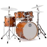 6100 Mapex Storm Rock 5 Piece Drums Hardware Planet Z Cymbals Camphor Wood Grain