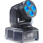 STAGG 6126 HeadBanger 8 moving head with 4 x 10-watt RGBW LED (Headbanger Mini 8)