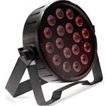 STAGG 6128 Flat ECOPAR 18 spotlight with 18 x 1-watt RGB (3 in 1) LED