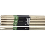 STAGG 6136 Pair of Hickory Sticks, V series /7A - Wooden Tip