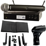 3208 Shure BLX24R/SM58-H10 Wireless Rackmountable Microphone