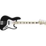 0147702306 Fender Geddy Lee Jazz 4 String Electric Bass Guitar, Black