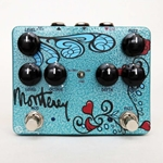 7779 Keeley Monterey Rotary Fuzz Vibe Multi-effects Pedal