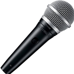 "7785 Shure PGA48-QTR Vocal Microphone with XLR to 1/4"" Cable"