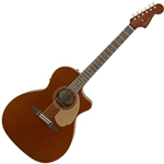 0970743096 FENDER NEWPORTER PLAYER ACOUSTIC-ELECTRIC GUITAR RUSTIC COPPER