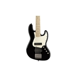 Fender 0370460506 Contemporary Active Jazz Bass V HH, Maple Fingerboard, Black