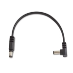 "Rockboard 7838 RBO CAB POWER 15 AS Power Supply Cable Black 15 cm / 5.90"" angled/straight"