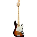 0149902500 Fender Player Jazz 4 String Bass, Maple Fingerboard, 3-Color Sunburst