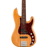 Fender 0199010734 American Ultra Precision Bass®, Rosewood Fingerboard, Aged Natural