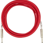 0990515010 Fender Original Series Instrument Cable, 15', Fiesta Red