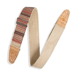 "LEVY'S  Levi MH8P-006 2"" Hemp Webbing Strap with Cork Ends"