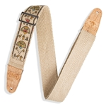 "LEVY'S  Levy MH8P-004 2"" Hemp Webbing Strap with Cork Ends"