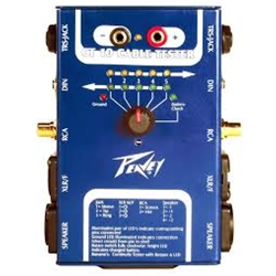 563070 Peavey CT 10 Cable Tester