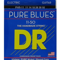 DR PHR-11 Pure Blues Electric Guitar Strings, .011 - .050