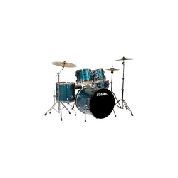 TA5727 Tama IP52KCHLB Imperial Star Shell Set w/Cymbals and Hardware Hairline Blue
