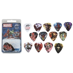 3025610 Peavey Marvel Guitar Picks 12 Pack