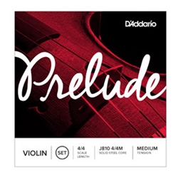 5191 D'Addario J810 4/4 Prelude Medium Violin Strings