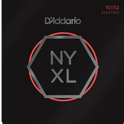 DA5196 D'Addario NYXL Lite/Heavy Electric Guitar Strings, .010-.052