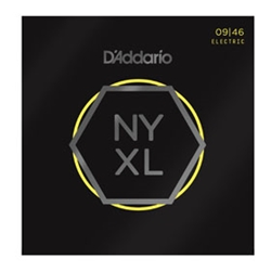 DA5194 D'Addario NYXL Light Regular Electric Guitar Strings, .009-.046