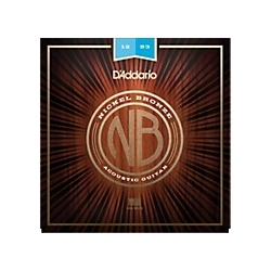 NB1152 D'Addario Nickel Bronze Acoustic Lite Guitar Strings, .011 - .052