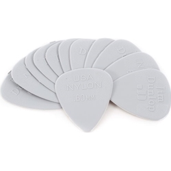 986351750 Fender Nylon .60MM Picks, 12 Pack