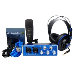 4444 Presonus Audiobox iTwo Studio Recording Bundle
