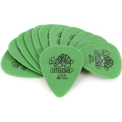 4515 Dunlop 418P.88 Green Guitar Picks, .88 12 Pack