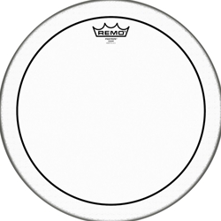 "3050 Remo PS-0315-00 Batter, Pinstripe, Clear, 15"" Head"