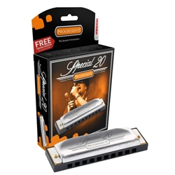 "4139 Hohner  560PX-D Special 20 Harmonica, ""D"""