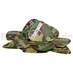 Roland  BOSS BPK-12-CH Heavy Camo Celluloid Pick, 12 Pack