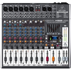 4326 Behringer X1222USB Xenyx Unpowered Mixer w Effects