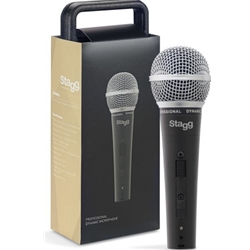 STAGG 6134 Professional cardioid dynamic microphone with cartridge DC78