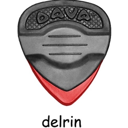 6169 Dava Rock Control Delrin Medium Red 6-Pack