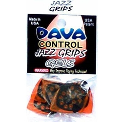 6171 Dava Jazz Grip Gels Small 6-Pack Clear Orange