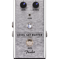 0234530000 Fender Level Set Buffer Guitar Pedal - Silver