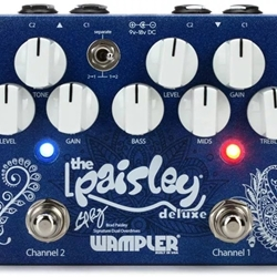 7650 Wampler Paisley Drive Deluxe Overdrive Efects Pedal