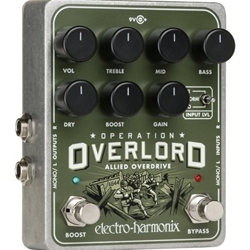 Electro-Harmonx 7739 Electro-Harmonix Operation Overload Overdrive Effects Pedal