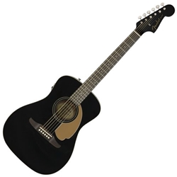0970722006 Fender - Malibu Player, Jetty Black