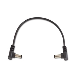 "Rockboard 7837 RBO CAB POWER 15 AA Power Supply Cable Black 15 cm / 5.90"" angled/angled"