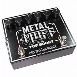Electro-Harmonx 7602 Electro-Harmonix Metal Muff With Top Boost