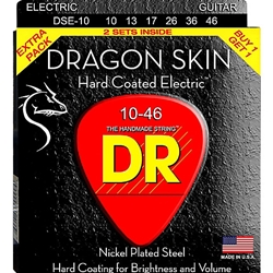 DR DSE2-11 Dragon Skin Guitar Strings 2 Pack .011-.050