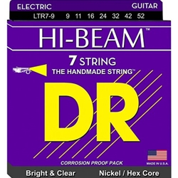 7561 DR Strings HI-BEAM Nickel Plated 7-String Electric Guitar Strings Medium (10-56)