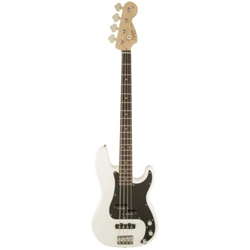 Fender 0370500505 Squier Affinity Series Precision Bass PJ, Laurel Fingerboard, Olympic White