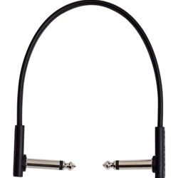 Rockboard 7849 RBO CAB PC F 20 BLK Flat Patch Cable, 20 cm / 7.87""