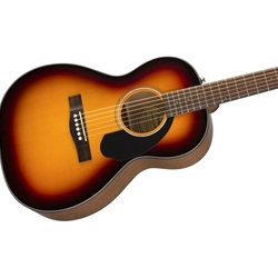 0970120032 Fender CP-60S Palor Acoustic Guitar, Sunburst Walnut