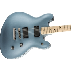 Fender 0370470583 Squier Contemporary Active Starcaster®, Maple Fingerboard, Ice Blue Metallic